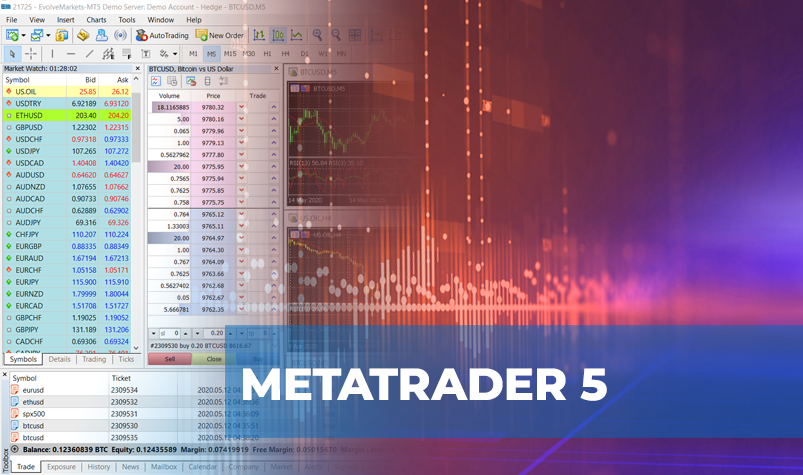 Blog Article Image Of MetaTrader 5 Platform